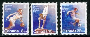 Canada - #B10-11-12 - MINT NH set of 3  -1976 - Item C191