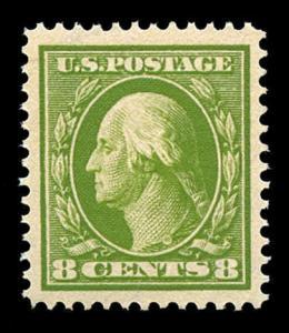 momen: US Stamps #380 Mint OG NH PSE Graded XF-90J