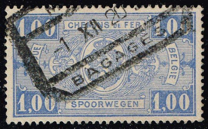 Belgium #Q150 Parcel Post & Railway; Used (0.25)