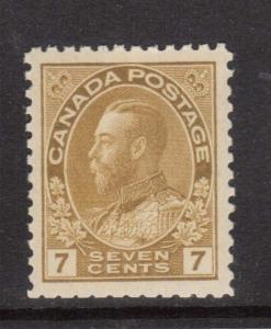 Canada #113b XF/NH