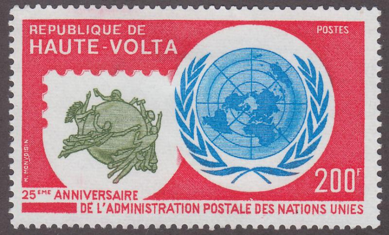 Burkina Faso 405 UN Postal Administration, 25th 1976