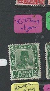 MALAYA TRENGGANU (P1802B)  SULTAN   2C  SG 27   MOG