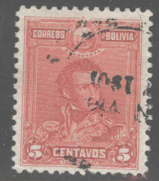 Bolivia Scott 62 Used 1901 stamp