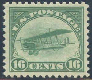 US Scott #C2 Mint, XF, Hinged