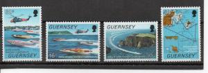 Guernsey 390-393 MNH