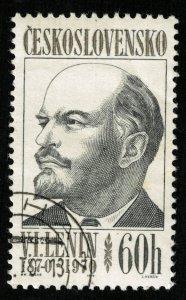 1970 Lenin, 60 h, Czechoslovakia (Т-5942)