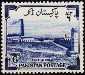 Pakistan. 1955 6a S.G.74 Mounted Mint