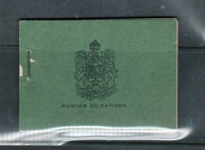 Canada Booklet #20b Very Fine Mint French Complete