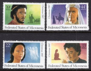Micronesia 58,C31-C33 Christmas MNH VF