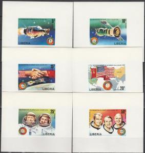 Liberia #715-20 MNH F-VF Deluxe Sheets  V $80.00 (C2756)