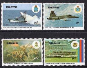 Malaysia 262-265 MNH VF