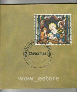SRI LANKA STAMPS Christmas Miniature sheet Album - 20 miniature sheets included
