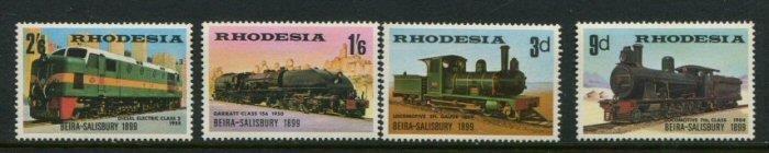 Rhodesia #267-70 Mint