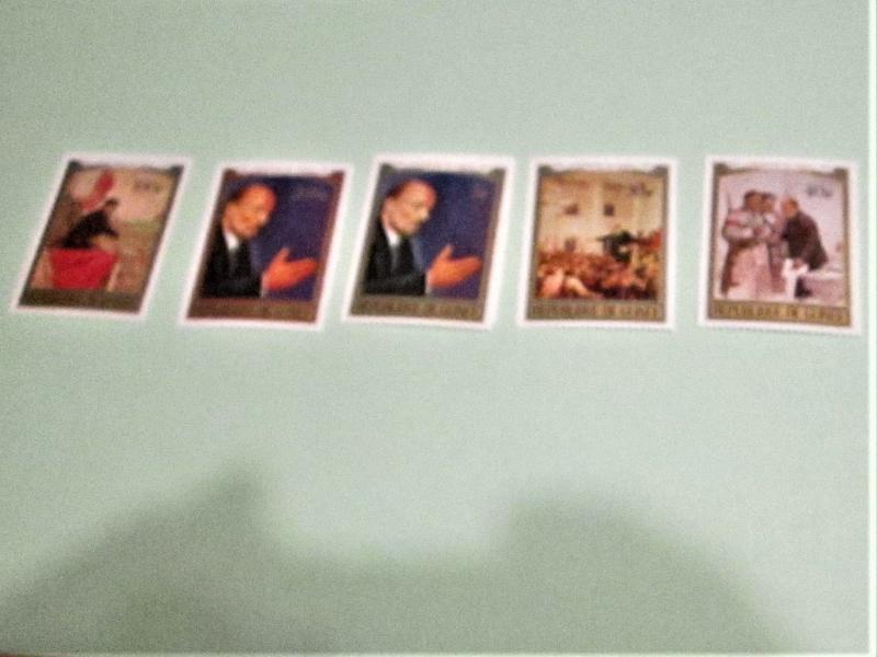 Guinea - 564-69, MNH Set. Lenin. SCV - $6.80