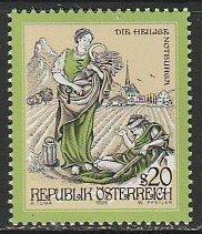 1999 Austria - Sc 1794 - MNH VF - 1 single - Stories and Legends
