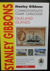 Stanley Gibbons Commonwealth Stamp Catalogue 2016 Falkland Islands 7th Edition