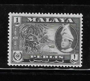 Malaya Perlis 1957-62 Sc 29 MH A1752