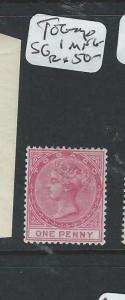 TOBAGO  (P1807B) QV 1D  SG1  MNG