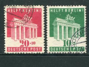 Germany #B302-3  Used  VF    -  Lakeshore Philatelics