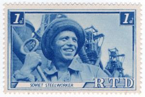 (I.B) Russia Cinderella : Russia Today 1d (Steel Worker)