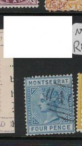 Montserrat SG 5 Used, fault UL corner (3dte)