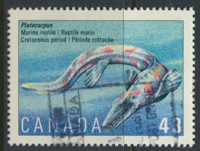 Canada SG 1571 Used SC# 1498 Dinosaur see details
