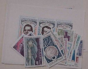 SPACE  MAURITANIA  24 DIFF. STAMPS MINT NH also 6 DIFF. SHEETLETS