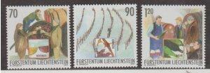 Liechtenstein Scott #1262-1263-1264 Stamps - Mint NH Set