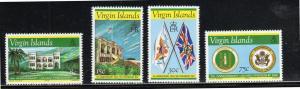 VIRGIN ISLANDS #313-315  1976 U.S & BRITISH FRIENDSHIP        MINT VF NH O.G