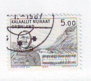 Greenland Sc 159 1984 Lund anthem stamp used