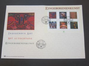 United Nations (Vienna) 2003 Sc 326 FDC