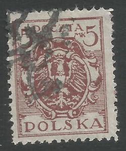 POLAND 152A VFU X494-7