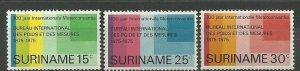 Suriname - 1975 - NVPH 646-48 - MNH - ZO183