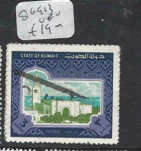 KUWAIT  (PP0206B) 3 D     SG 913     VFU