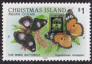 Christmas Island #247 Mint