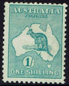 AUSTRALIA 1915 KANGAROO 1/- WND WMK