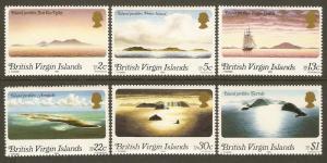Virgin Islands #395-400 NH Island Profiles