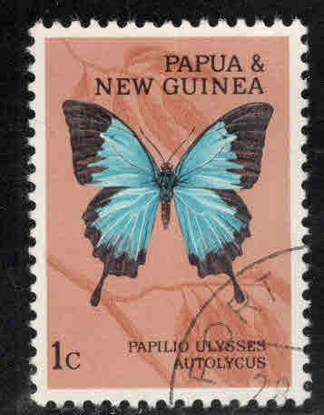 Papua New Guinea Scott 209 Used Butterfly Stamp 1966