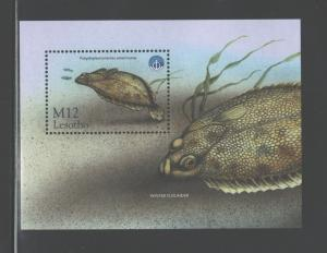 LESOTHO 1998 MARINE LIFE - FISH #1148  MNH