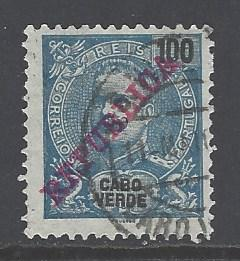 Cape Verde Sc # 93 used (RS)