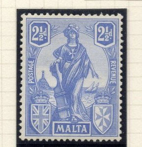 Malta 1926 Early Issue Fine Mint Hinged 2.5d. 321562