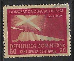 Dominican Republic O25 VFU COLUMBUS 315G-5