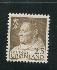 Greenland #54 mint  - Make Me A Reasonable Offer