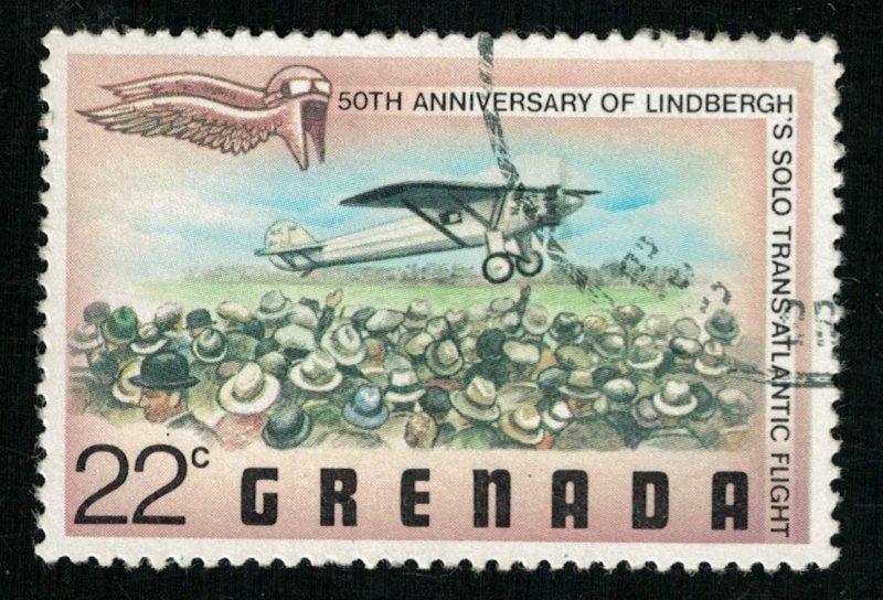 50th anniversary, 22c, Grenada (T-9123)