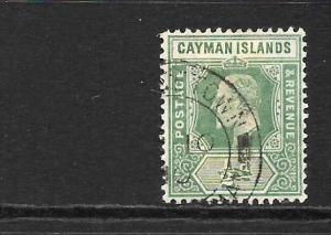 CAYMAN ISLANDS 1905  1/2d   KEVII   FU   SG 8