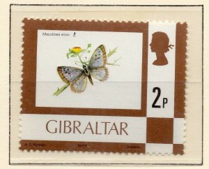 Gibraltar 1977 QEII Early Issue Fine Mint Unmounted 2p. NW-99224