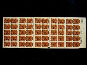 US/NEW YORK - #C7 - PANE 100 - MNH - CAT VAL $100.00