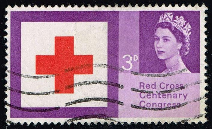 Great Britain #398 Red Cross; Used (0.20)