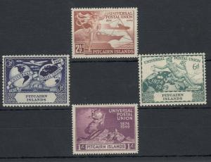 Pitcairn Island KGVI 1949 UPU Set SG13/16 MH J5303