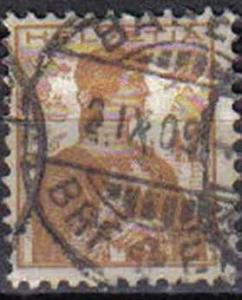 SWITZERLAND, 1908, used 12c.